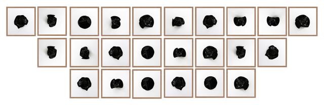 , 'Untitled (All Tomorrow's Parties Black 24),' 2016, Machete