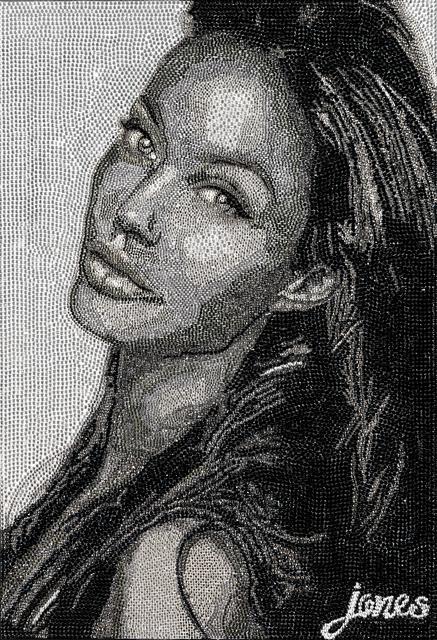 , 'Angelina Jolie,' 2018, Galería Corsica