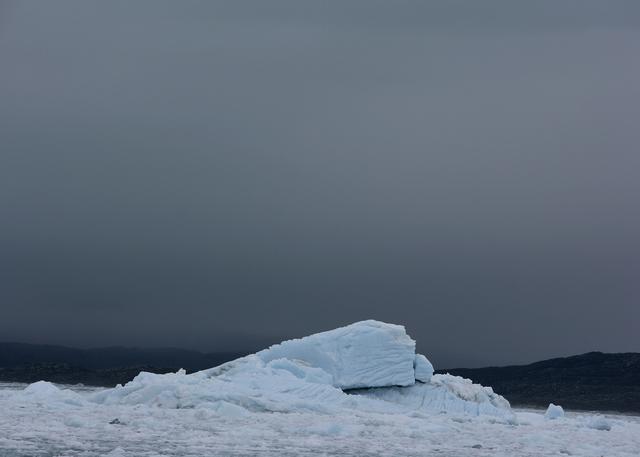 , 'Ved Eqip Sermia gletscheren,' 2006, Galleri Bo Bjerggaard