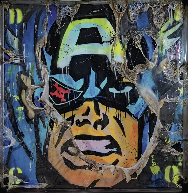 , 'Captain America Face,' , SimonBart Gallery