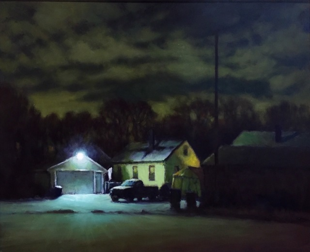 , 'Quiet Winter Night,' 2017, Grenning Gallery