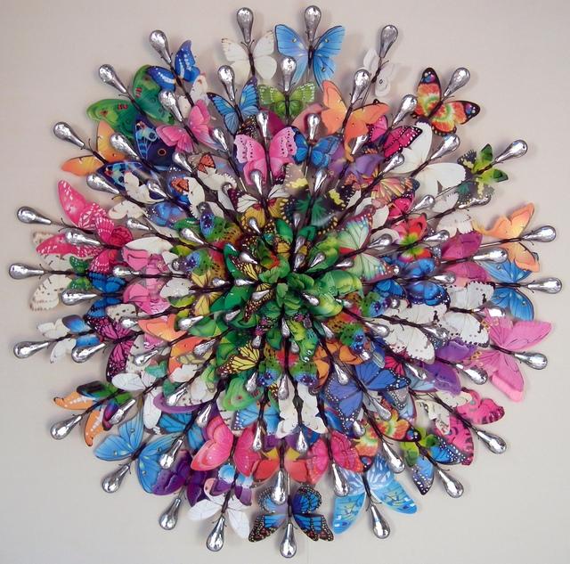 "Bali Love Jenkins, 'Madame Butterfly ""Humming Chorus""', 2021, Sculpture, Metal, Plastic & mixed Media, Alessandro Berni Gallery"