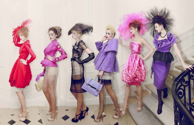 , 'Dior 6 Girls, Haute Couture Winter,' 2009, Rosenbaum Contemporary
