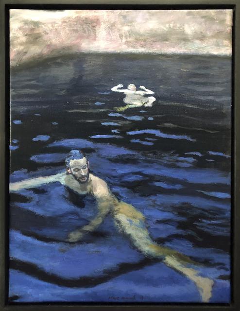 , 'Indigo bather duo ,' 2019, 99 Loop Gallery