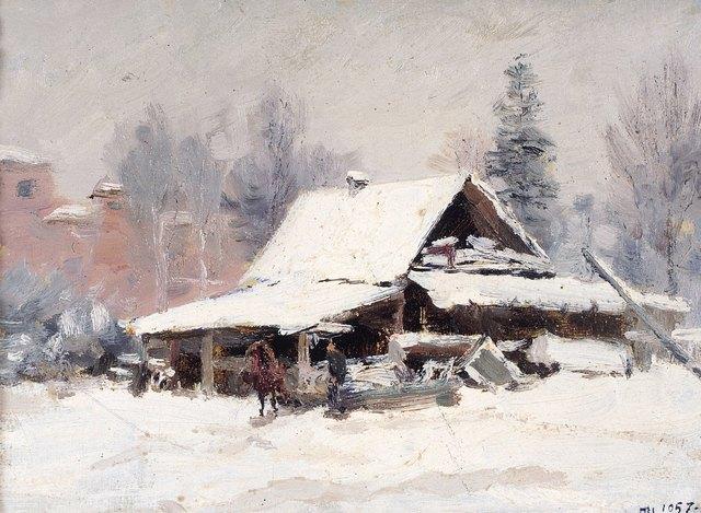 Pavel Fedorovich Shardakov, 'Wet snow', 1957, Surikov Foundation