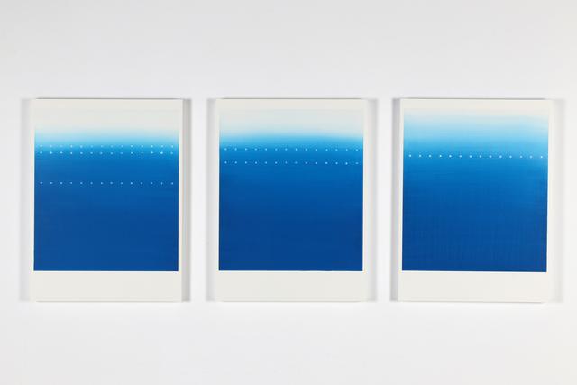 , 'Blue,' 2017, GALLERY MoMo