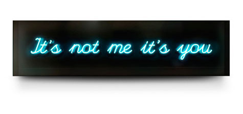 , 'It's Not Me It's You,' 2013, Contessa Gallery