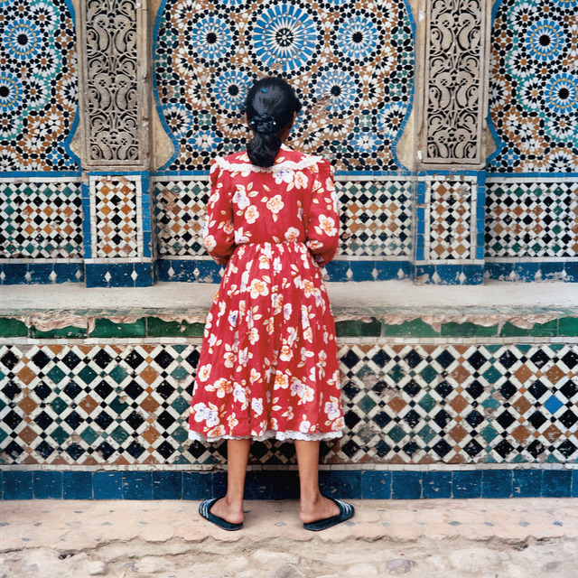 , 'Girl in Red, Tangier (from A Life Full of Holes: The Strait Project),' 1999, Cantor Fitzgerald Gallery, Haverford College
