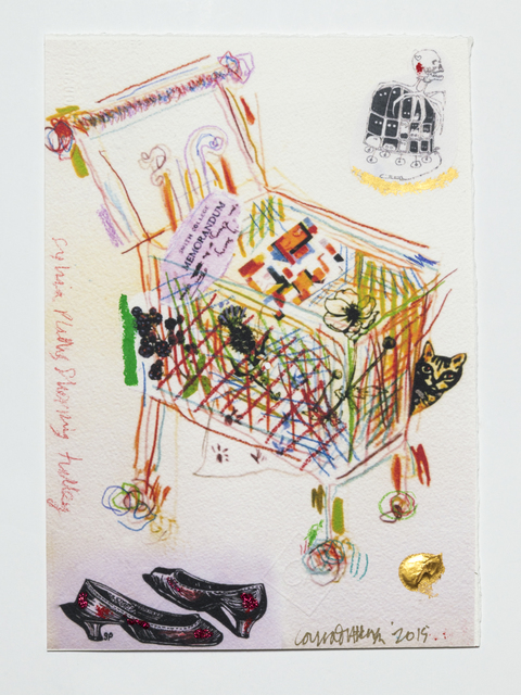 , 'Sylvia Plath's Shopping Trolley,' 2011, Ronald Feldman Gallery
