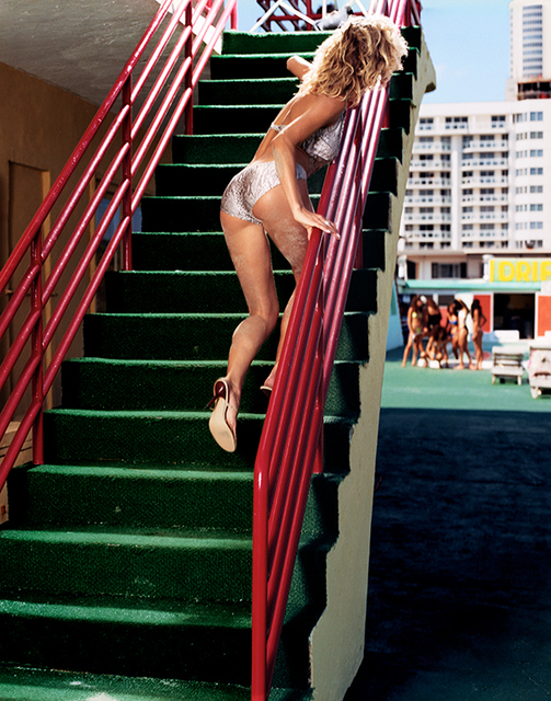 David Drebin, 'Gina on Stairs', 2000, Photography, Digital C-Print on Archival Paper, Isabella Garrucho Fine Art