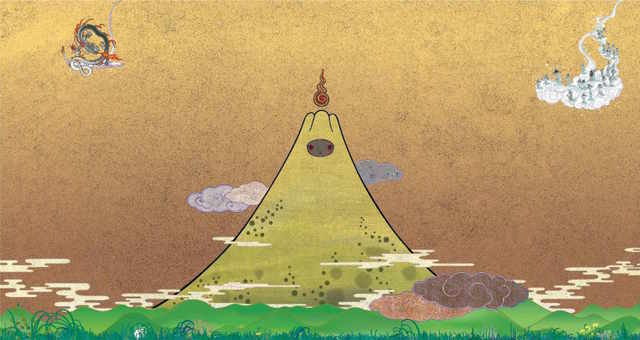 , 'Sacred Eruption,' 2015, Kaikai Kiki