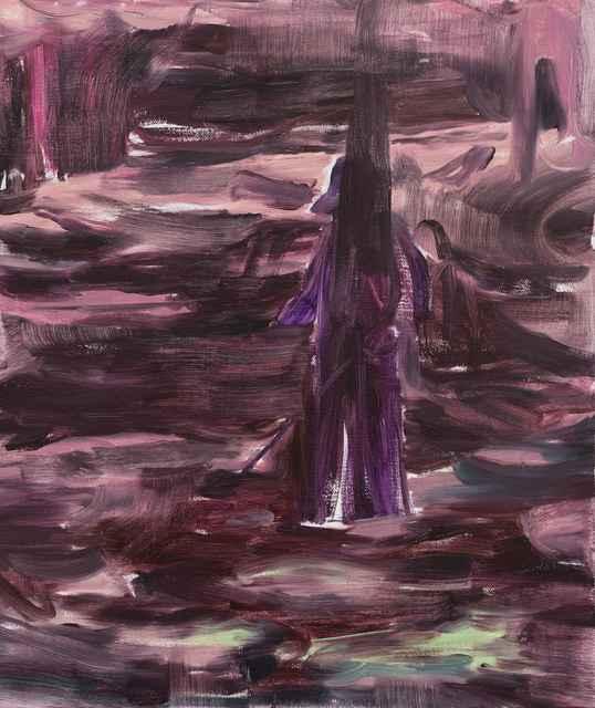 , '林中人 A Figure in the Woods,' 2017, Matthew Liu Fine Arts