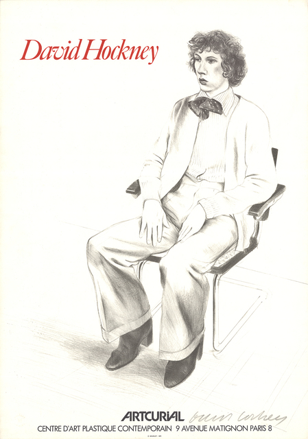 David Hockney, 'Artcurial, Gregory Evans', 1979, ArtWise