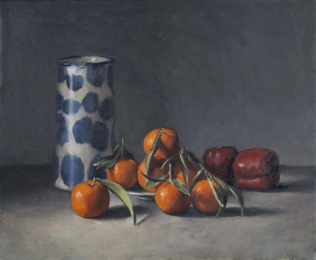 , 'Mandarins and Blue Jug ,' 2016, OLSEN GALLERY