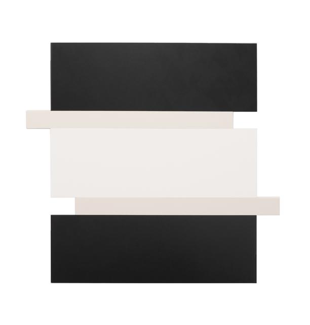 , 'Stack – Black, Canvas, White,' 2016, Peter Blake Gallery