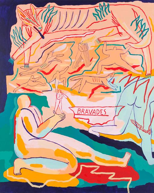 , 'Bravades,' 2018, Urban Spree Galerie