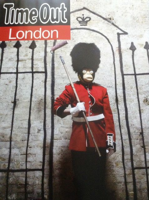 "Banksy, 'BANKSY- TIME OUT LONDON ""ROYAL GUARD""', 2010, Arts Limited"