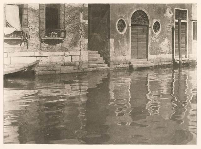 Alfred Stieglitz, 'Reflections, Venice', 1897, Doyle