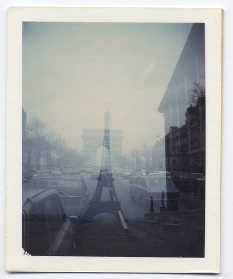 , 'Untitled, (double-exposure with Eiffel Tower and Arc De Triomphe),' 1971, Nathalie Karg Gallery