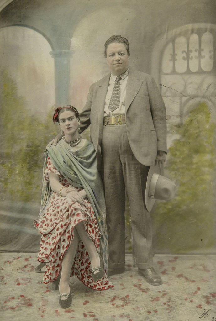 Victor Reyes, 'Wedding portrait of Frida Kahlo and Diego Rivera', 1929,