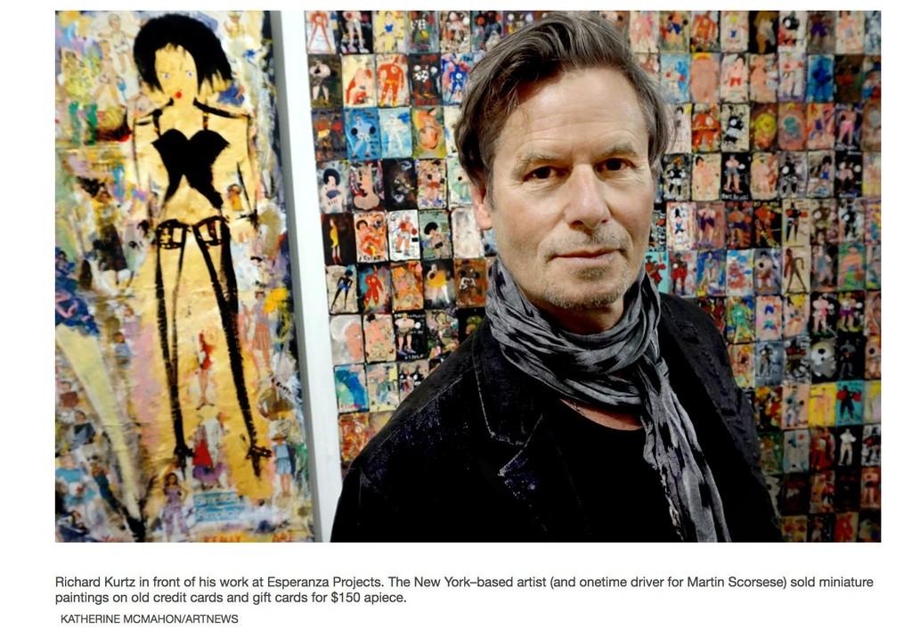 Artist Richard Kurtz • ARTNews • Esperanza Projects Booth 18 New York Outsider Art Fair 2019
