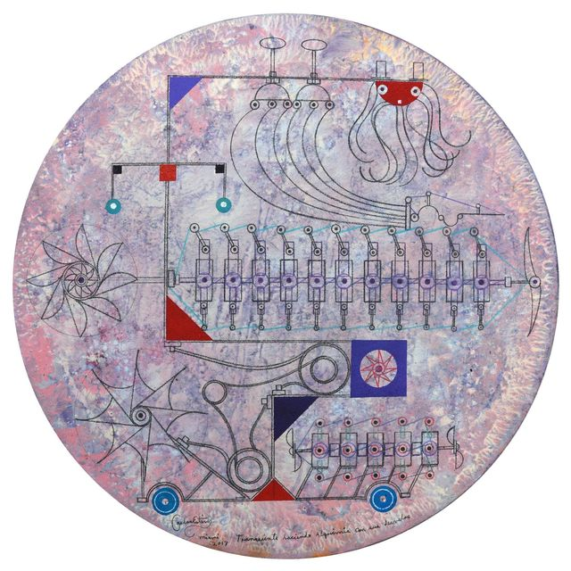 Carlos Estévez, 'Transeúnte haciendo alquímia con sus desvelos [Transient Doing Alchemy With His Anxieties]', 2017, LaCa Projects