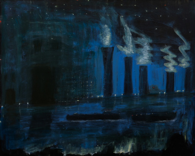 Kathryn Lynch, 'boat and industry', 2017, Sears-Peyton Gallery