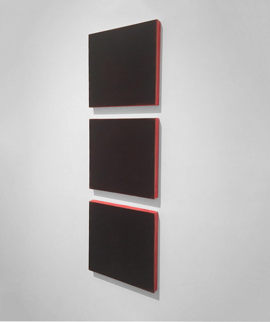 , 'Blacks Over Red,' 1999, Peter Blake Gallery