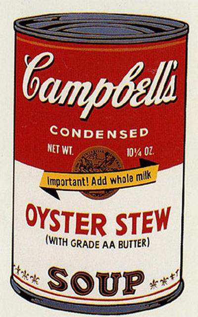 Andy Warhol, 'Campbell's Soup II, II.60 Oyster Stew', 1969, Elizabeth Clement Fine Art
