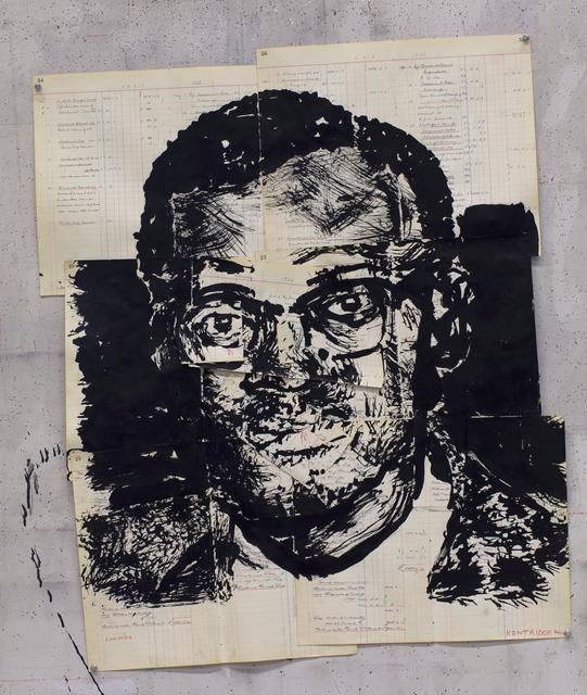 , 'Untitled (Patrice Lumumba I),' 2016, Goodman Gallery