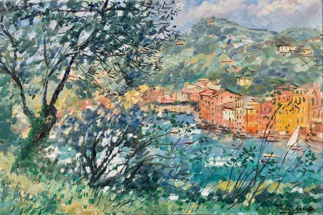 , 'View of Portofino,' ca. 1950, Anderson Galleries