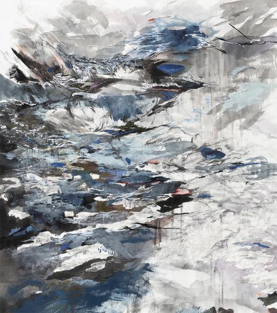 """, 'Cleaving 1 (61°31'13.08""""N 142°55'14.59""""W),' 2018, Gallery Neptune & Brown"""
