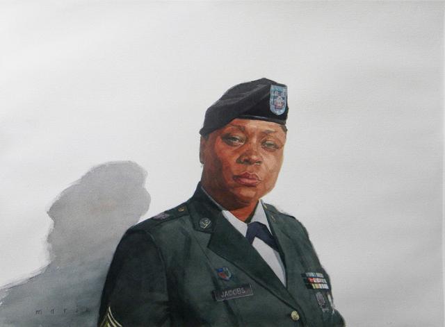 , 'Sergeant Jacobs,' 2012, Bernarducci Gallery Chelsea