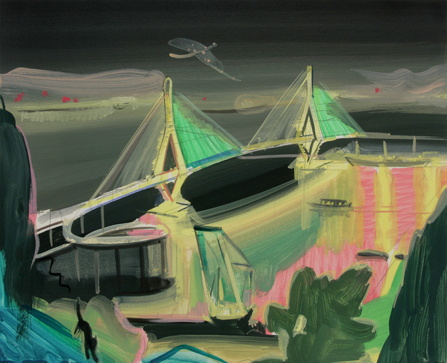 , 'Bongnaesan Mountain Nightscape,' 2017, DOOSAN Gallery