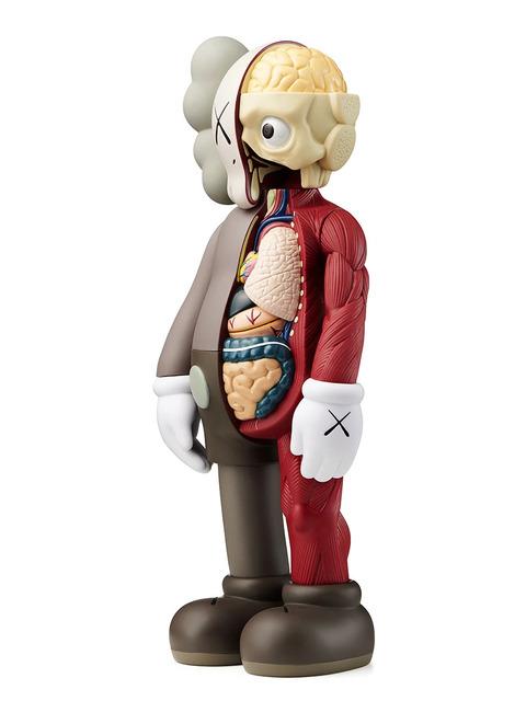 KAWS, 'KAWS Brown Flayed Companion 2016 (KAWS flayed brown companion)', 2016, Sculpture, Painted Vinyl Cast Resin figure, Lot 180