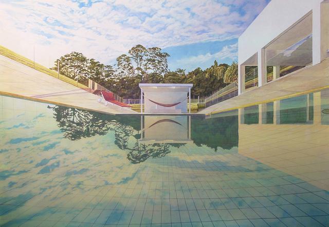 , 'Deep End,' 2017, Galerie Nicolas Robert