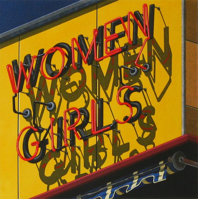 Robert Cottingham, 'Women-Girls', 2002, Harlan & Weaver