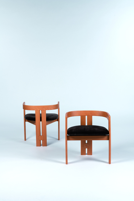 Tobia Scarpa, 'Pair of set of Pigreco armchairs', vers 1960, Leclere
