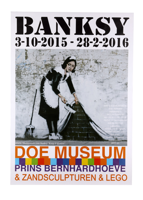 Banksy, 'Doe Museum Exhibition Poster', 2015, Chiswick Auctions
