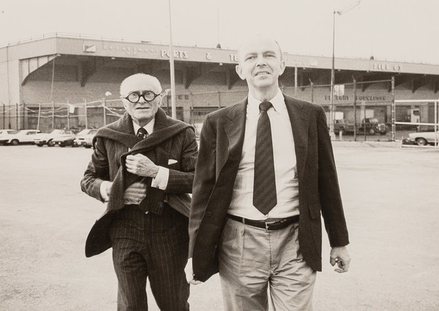 Andy Warhol, 'Philip Johnson and David Whitney', 1984, Photography, Gelatin silver, Heritage Auctions