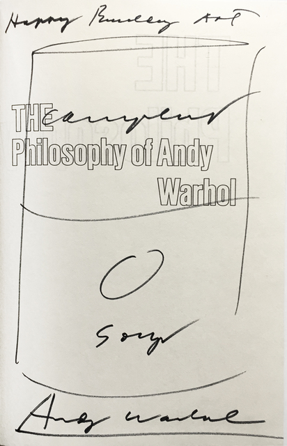 , 'Campbell's Soup Can Drawing, The Philosophy of Andy Warhol,' 1975, Joseph K. Levene Fine Art, Ltd.