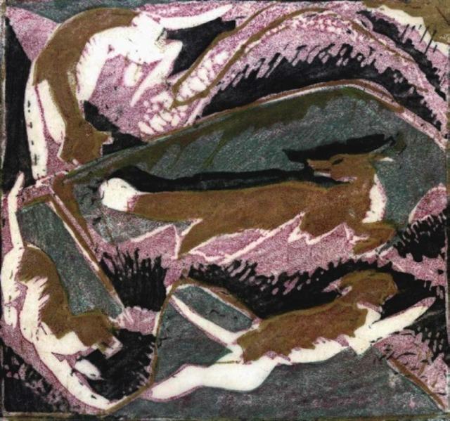 , 'The Hunt,' 1932, Redfern Gallery Ltd.