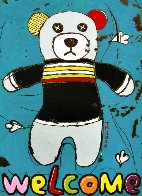 , 'Welcome Bear ,' 2014, Parkview Green Art