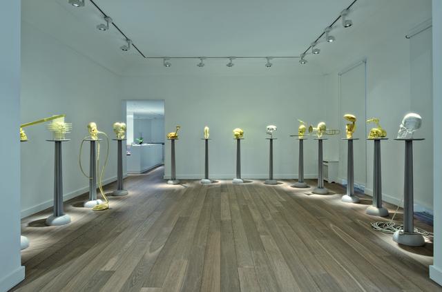Lin Tianmiao, 'Sculpture', 2013, Mixed Media, Colored silk, polyurea, metal compnents, etc., Total Museum of Contemporary Art