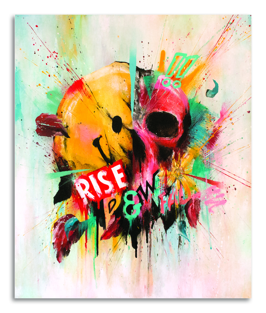 , 'Rise & Fall II (Red Dawn),' 2015, StolenSpace Gallery