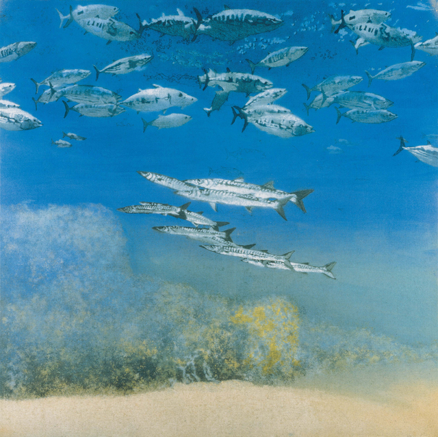 , 'School IV: Barracuda under Skipjack Tuna,' 1978, Gagosian