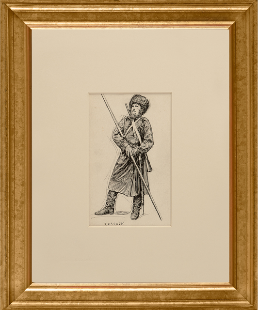 , 'Cossack,' ca. 1900, Thurston Royce Gallery of Fine Art, LTD.