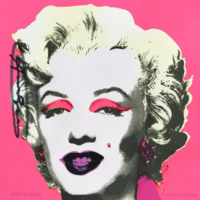 Andy Warhol, 'Marilyn (Castelli Graphics Announcement)', 1981, MLTPL
