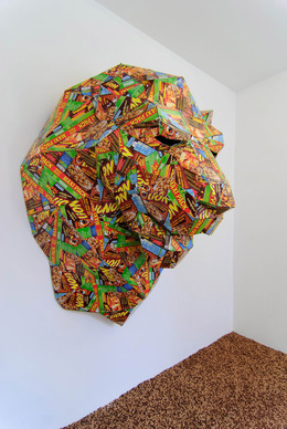 , 'Lion's head,' 2013, Albert Baronian