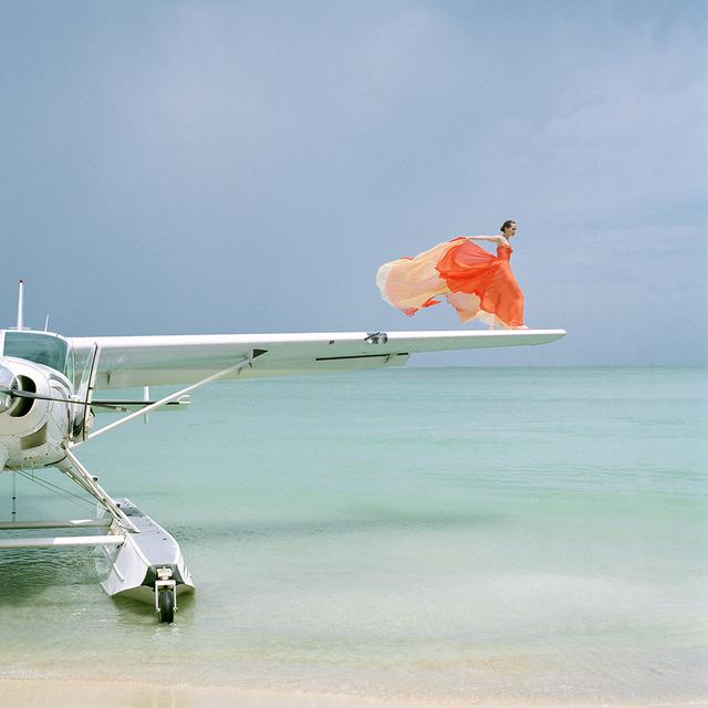 , 'Saori on Sea Plane Wing, Dominican Republic,' 2009, Robert Klein Gallery